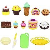 Bescita Pretend Spielzeug - DIY Nudeln Little Chef Edelstahl Geschirr Spielzeuge Kochgeschirr Küche Spielzeug Küche Spielzeug Töpfe Pfannen Geschenk Pretend Toy