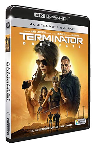 TERMINATOR : DARK FATE [4K Ultra HD + Blu-ray]