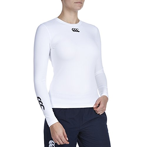 Canterbury donna Baselayer Cold top manica lunga White