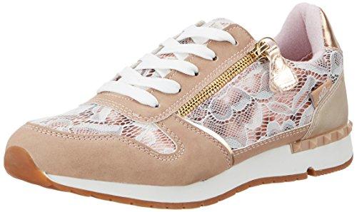 Lico Damen Ginger Sneakers, Gold (Rose/BEIGE), 38 EU