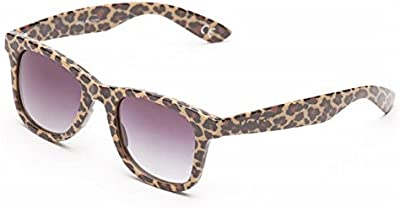 Gafas De Sol Vans - Janelle Hipster Marrón Leopardo Herringbone