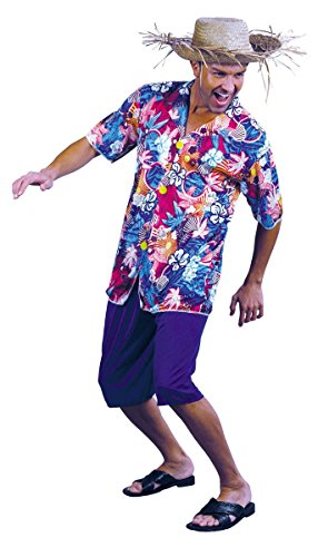 Rer-Y-Confeti-Fibhaw002-Para-adultos-traje-Traje-hawaiano-de-Turismo-Hombre-Talla-L