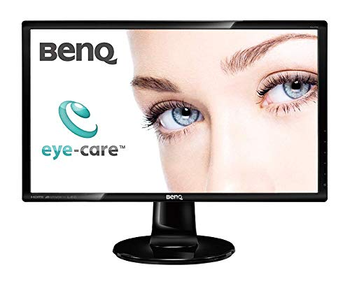 BenQ GL2760H 68,6 cm (27 Zoll) Monitor (Full-HD, Eye-Care, HDMI, VGA, 2ms Reaktionszeit) schwarz, [Energieklasse A+++ - G]
