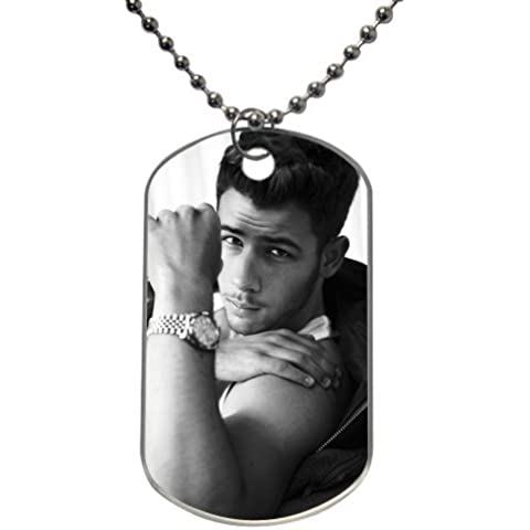 XOX-T Hot Custom Dog Tag Nick Jonas Rectangle(2 sides)Mark Lewisknowyou for you - Jonas Dog