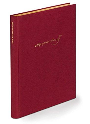 Wasserzeichen-Katalog: (Neue Mozart-Ausgabe X/33/2)