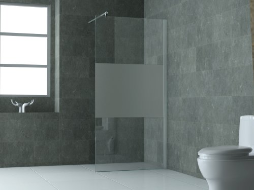 10 mm Duschtrennwand FREE-PF 100 x 200 cm