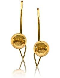 Senco Gold 22KT Yellow Gold Stud Earrings for Women