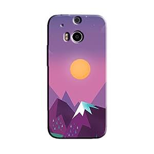 MINIMALISTIC SUNRISE BACK COVER FOR HTC M8