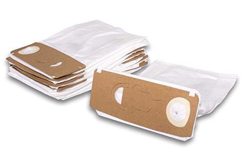 Preisvergleich Produktbild vhbw 10x Staubsaugerbeutel, Staubsaugertüten Micro Vlies für Staubsauger Vorwerk Kobold VK 130, VK 131, VK130, VK130SC, VK131, VK131SC