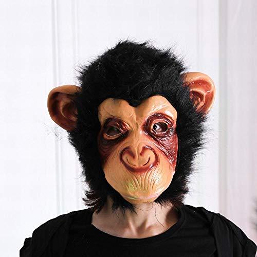 Z&J Schimpanse Haube Halloween Horror Tier Maske AFFE -