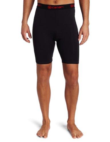 Cycle Liner Shorts (Canari Cyclewear Gepolsterte M Gel Cycle Liner Radshorts für Herren (schwarz, medium))
