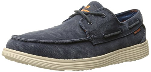 skechers-status-melec-mens-mocassins-blue-navy-nvy-9-uk-43-eu