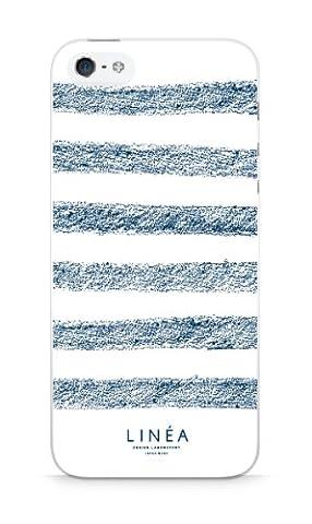 LINEA cas smartphone Blunt crayon Marine Border pour iPhone5s / 5 LIN-IP5-0008-02 (japon importation)