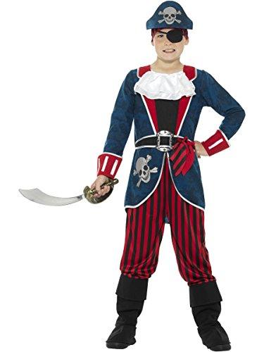 Deluxe Pirate Captain - Kids Costume 10 - 12