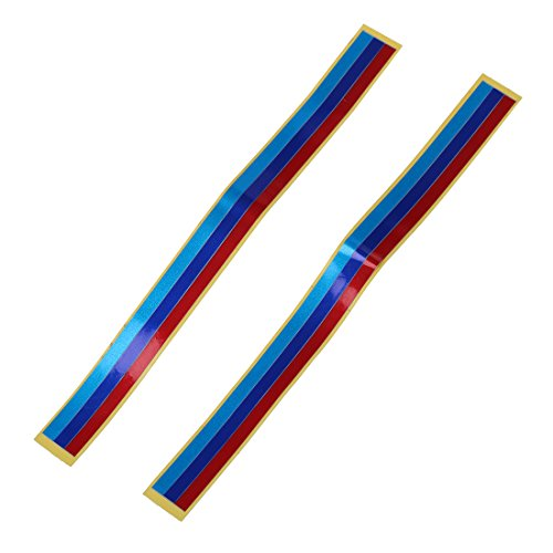 REFURBISHHOUSE Gitter Grill PVC reflektierende Folie Klebeband Aufkleber Kompatibel mit BMW M3 M5 E36 E46 E60 E90 E92