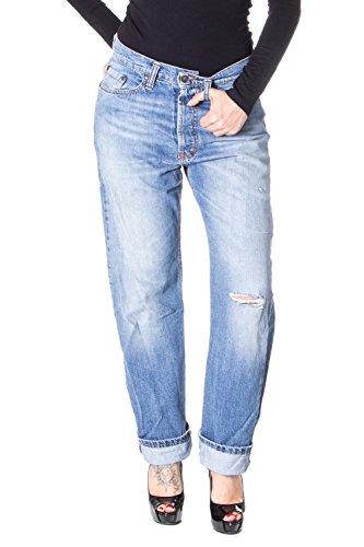 Please Frauen Jeans Baggy Baggy Zerrissenen P30 s Denim