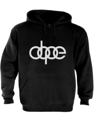 dope-audi-schwarz-small-kapuzenpullover-hoodie