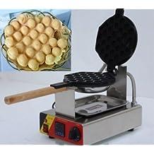 M & N Digital eléctrico de acero inoxidable antiadherente Sartén Huevo tarta horno QQ huevo de huevo máquina para hacer gofres Waffle máquina 220V o 110V