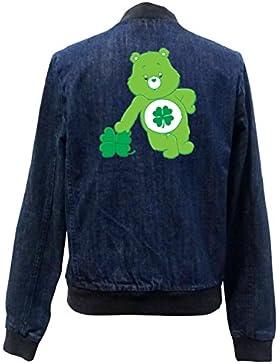 Love Bear Bomber Chaqueta Girls Jeans Certified Freak