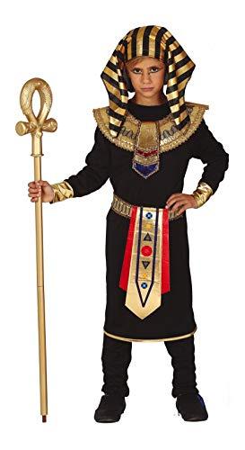 Traje de punto de poliéster, compuesto por una túnica, pantalón con cintura elástica, cuello, cinturón y tocado. Cetro y maquillaje disponibles por separado. Talla 10-12 años: 32 cm de ancho de hombros; pecho alrededor de 84 cm; cintura 64/70 cm; lon...