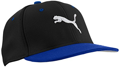 puma-basic-stretch-fit-cap-black-strong-blue-black