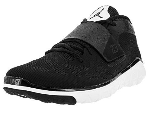 Nike  Jordan Flight Flex Trainer 2, Herren Basketballschuhe Weiß / Schwarz (Weiß / Schwarz-Weiß)