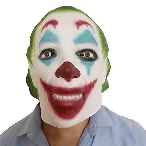 Gruselige Latex Maske - Halloween Maske - Cosplay Kostüm Maske - Party Rave Maske - Erwachsene Und - Kostüm Perücken Dallas