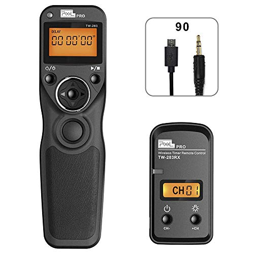 PIXEL TW-283/Fj Disparador inalámbrico Temporizador Cable Disparador Mando a Distancia para Fujifilm cámaras Digitales