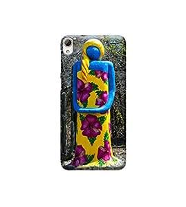 Ebby Premium Printed 3D Designer Back Case Cover For HTC 826 (Premium Designer Cae)