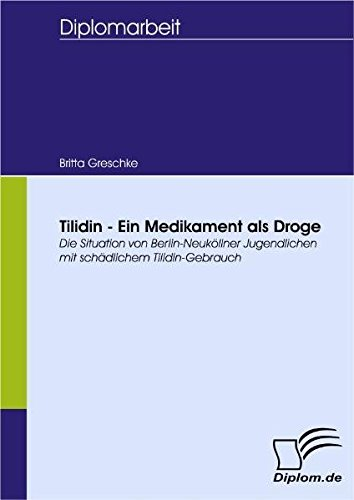 Tilidin - Ein Medikament als Droge. Die Situation von Berlin-Neuköllner Jugendlichen mit schädlichem Tilidin-Gebrauch