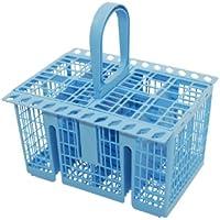Genuine INDESIT LAVAVAJILLAS azul cesta de cubiertos C00258627