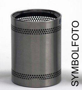 Graepel G-Line Pro Scopinox Corbeille à papier 8 litres