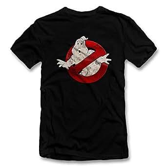 shirtground Ghostbusters Vintage T-Shirt Schwarz-Black S