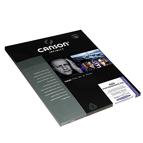 Affordable Canson Infinity Rag Photographique Duo 220gsm, doublesided ultra-smooth matte inkjet paper, A2, box of 25 sheets Special