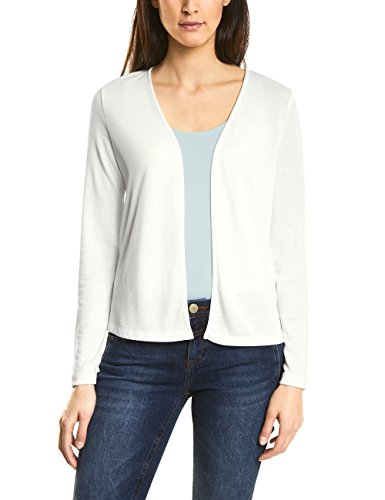 Street One Damen Strickjacke 311903 Nette, Beige (Off White 10108), 38
