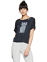 Just F by Jacqueline Fernandez Women's Plain Regular Fit Top