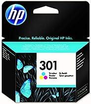 HP 301 Inktcartridge Cyaan, Geel, Magenta, 3 kleuren Standaard Capaciteit (CH562EE) origineel van HP
