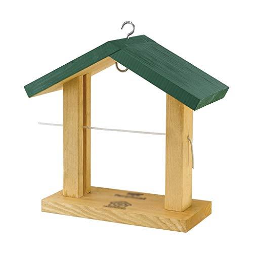 IVNZEI Vogelfutterautomat Bird Feeder Die Beste Vogelfütterungsstation aus Holz Bird Feeder Buffet aus Holz Obst Pin Regal -