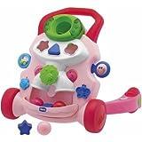 Logische Chicco Baby Steps Activity Walker Pink–-