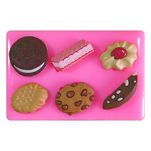 Galletas Chocolate Oblea Jammie Dodger Oreo Molde