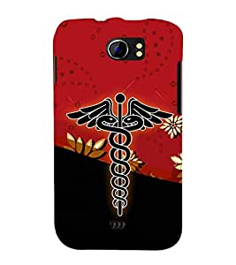 Dr Logo Graphics 3D Hard Polycarbonate Designer Back Case Cover for Micromax Canvas 2 A110 :: Micromax Canvas 2 Plus A110Q