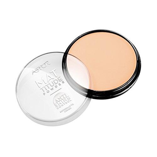 Astor Mattitude Anti Shine Powder - Mattierendes Kompakt Puder mit Anti Glanz Effekt für einen ebenmäßigen Teint - Hohe Deckkraft - Farbe Nude Beige 003 - 1 x 14 g