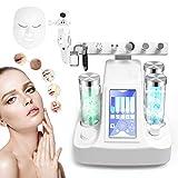 8 in 1 Sauerstoff Injektions Maschinen, Vakuumhydro Schönheits Massager Jet Spray das BIO Microcurrent Dermabrasions Gerät, Gesichtsreinigung und Verjüngung (EU)