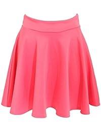 PILOT® Women's Scuba Skater Skirt in Coral