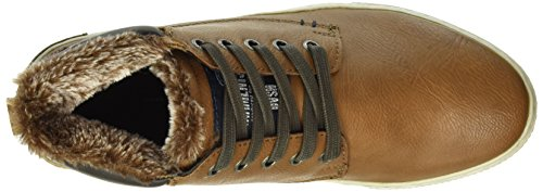 TOM TAILOR Herren 1685002 High-Top Braun (Rust)