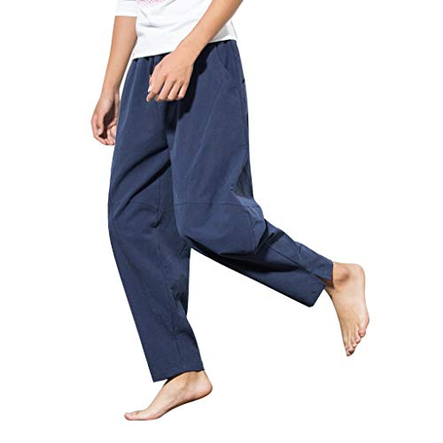 Cebbay Herren Sommer Pants Baggy Breitbeinhose Mode Komfortable ()