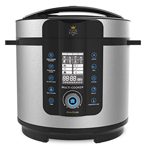 Pressure King Pro PKP6L PKP 6L Electric Pressure Cooker, 1000 W, 6 liters, Chrome