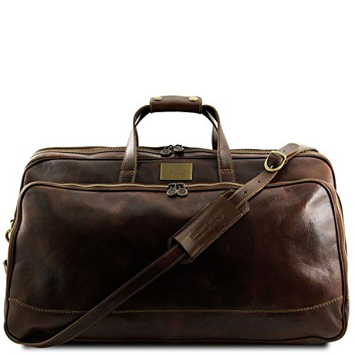 Tuscany Leather Bora Bora Trolley - Ledertasche - Gross Dunkelbraun