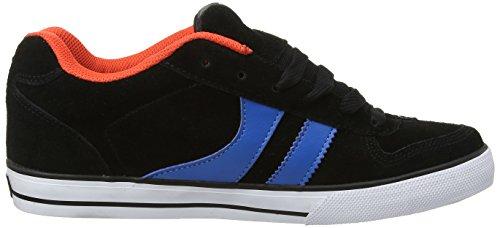 Globe Encore-2 Unisex-Erwachsene Sneakers Schwarz (black/blue 10007)