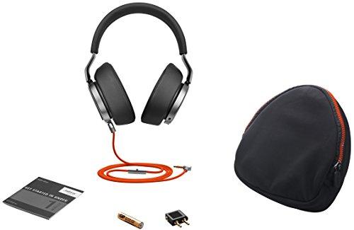 Jabra Vega Noise Cancelling Over-Ear-Kopfhörer (Active Noise Cancellation, Stereo-Headset, 3,5-mm-Audioanschluss, Freisprechfunktion, inkl. Audioadapter für Flugzeugsitz) - 4